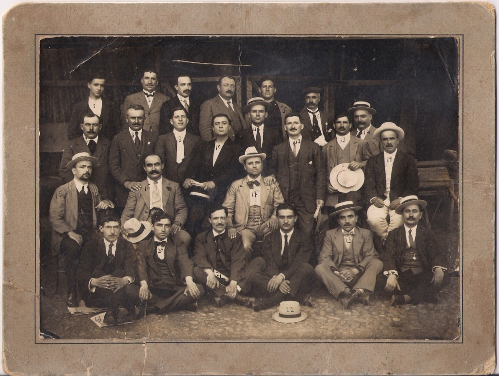 1914.Fabbri e anarchici esilio Lugano.fronte