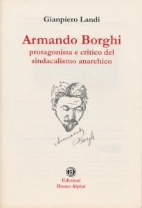 Borghi e il sindacalismo