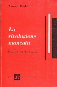 Borghi_La rivoluzione mancata_cop
