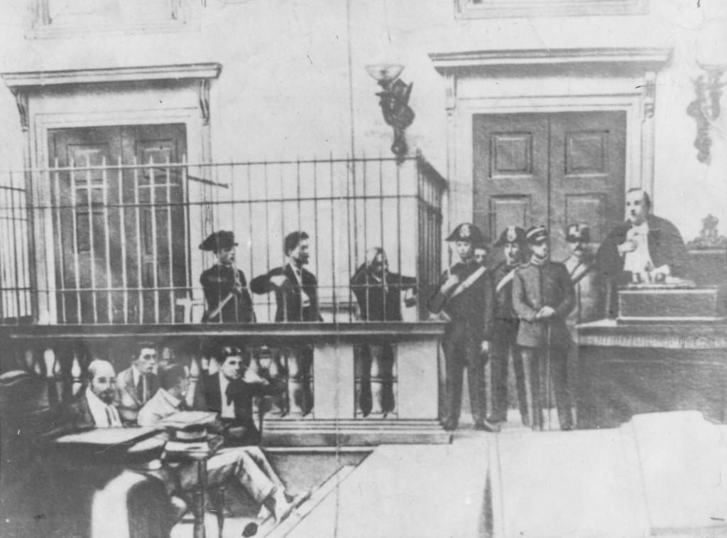 FSM processo milano 1921