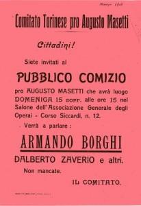 Manif_Comiziopro Masetti_ABorghi_Torino 1914