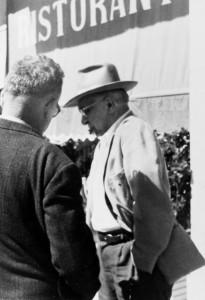 Vii congresso anarchico a Rosignano giugno 1961 turroni e Borghi