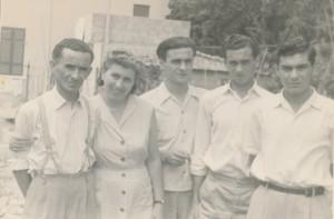 Attilio Bazzocchi e famiglia