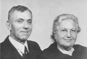 Guglielmo Boattini e moglie