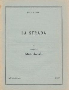 Luce Fabbri_La strada_1952