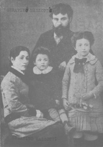 Serafino Mazzotti e famiglia