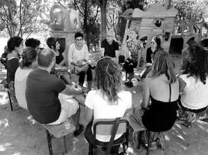 Il gruppo di lavoro di Francesco Codello e Thea Venturelli