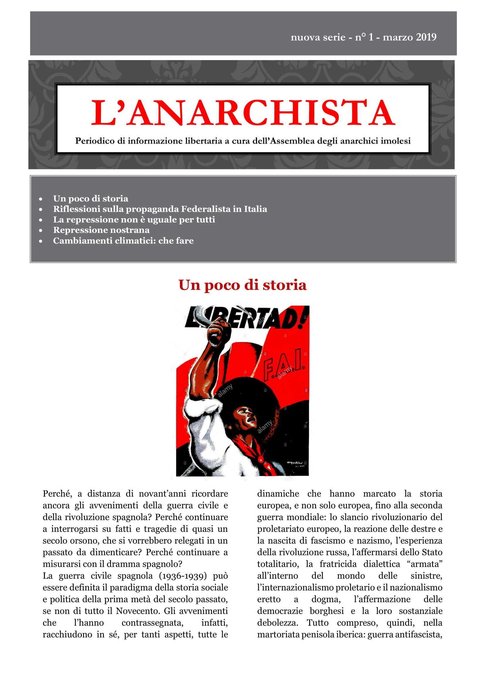 L'Anarchista (Imola)_2019_nuova serie